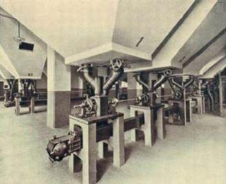 Немецкий конвейер платформенный транспортер